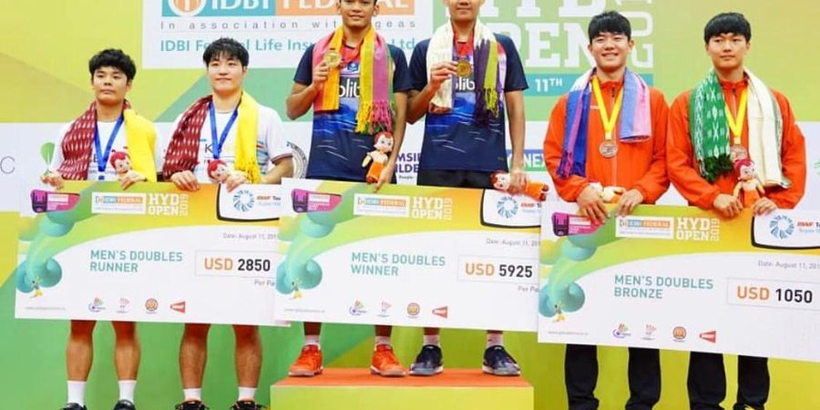 Indonesia Ditempel Taiwan dalam Klasemen Perolehan Gelar Juara BWF World Tour Usai Hyderabad Open 2019