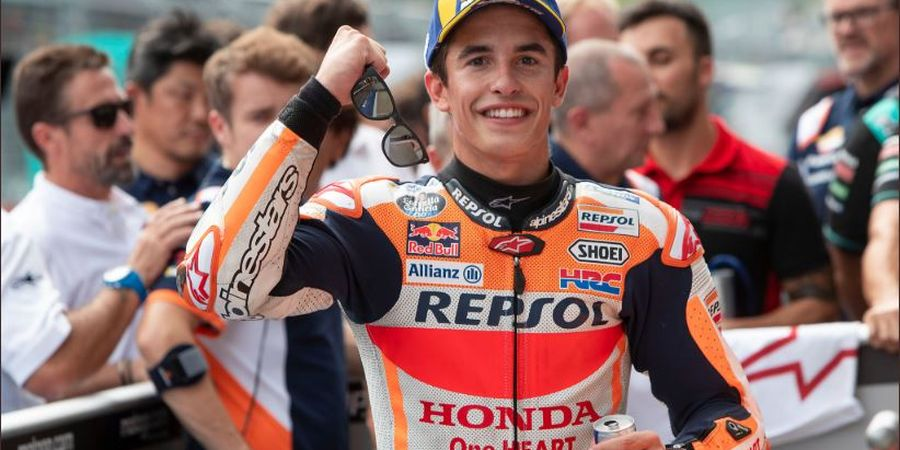 MotoGP Inggris 2019 - Marquez Puji Penampilan Pembalap Yamaha