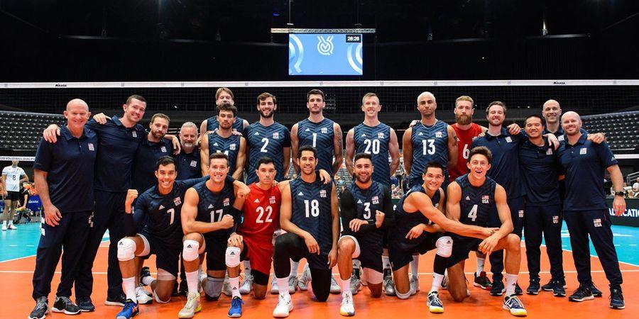 Timnas Voli Putra AS Amankan Tempat pada Olimpiade Tokyo 2020