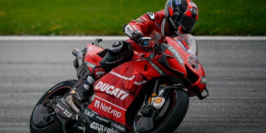 Hasil MotoGP Prancis 2020 - Danilo Petrucci Menang, Valentino Rossi Ambyar Lagi