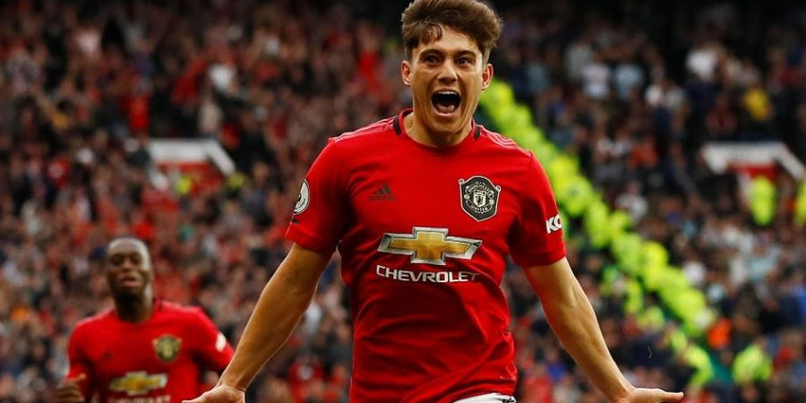 5 Pencetak Gol Debut Tercepat Man United - Daniel James Samai Solskjaer