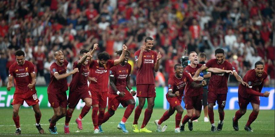 Kutukan Piala Super Eropa, Liverpool Siap-Siap Tak Juara Liga Inggris