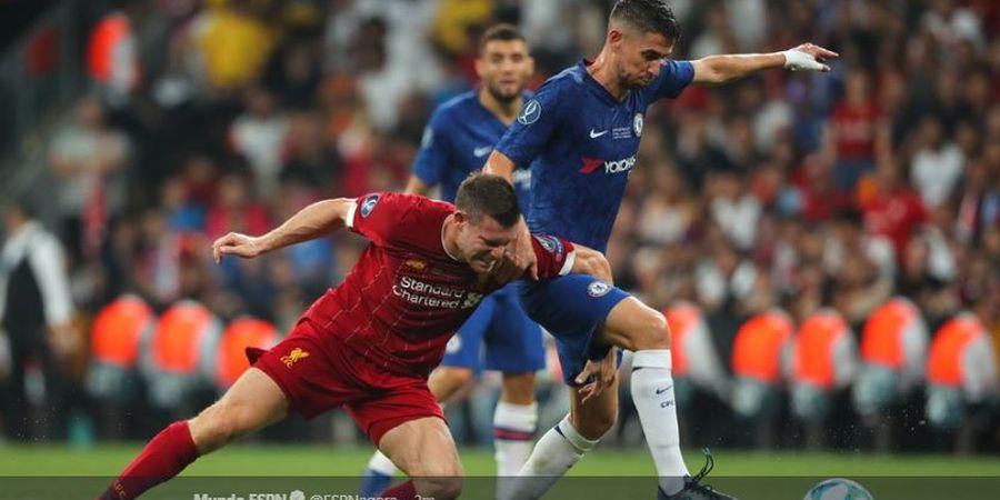 Piala Super Eropa 2019 - Chelsea Beri Jorginho Jersey yang Salah Nama
