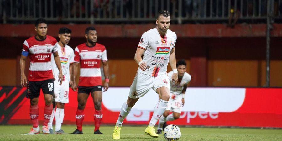 Unggul Dua Kali Berkat Marko Simic, Persija Imbang Kontra Madura United