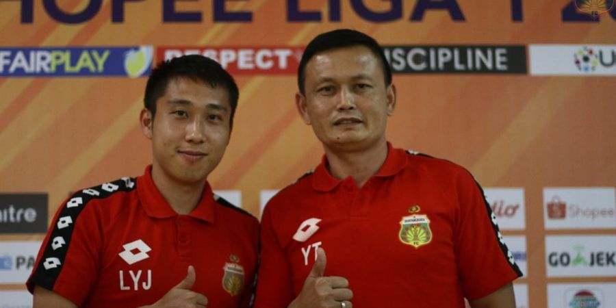 Link Live Streaming Liga 1 2019 -  Bhayangkara FC Versus Perseru, Ujian Yeyen Tumena
