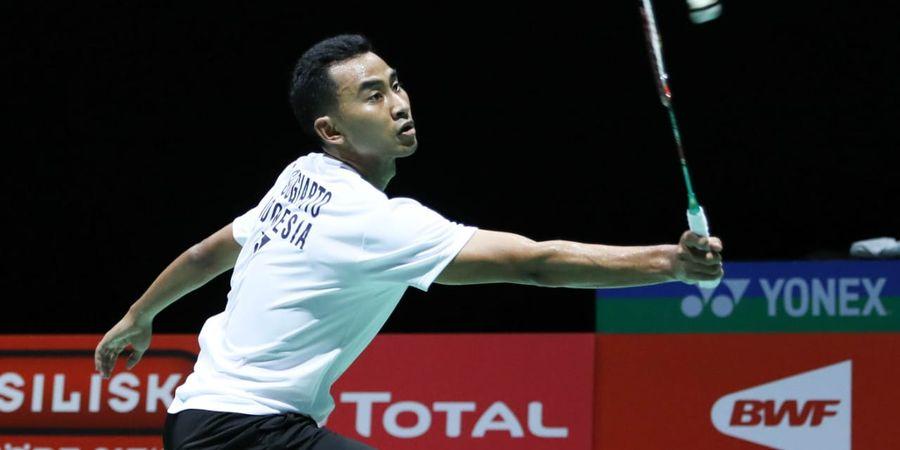 Kejuaraan Dunia 2019 - Sempat Kesulitan Lawan Wakil Sri Lanka, Tommy Sugiarto Ungkap Hal Ini