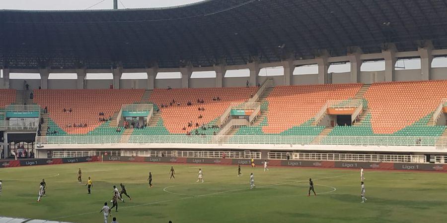 PS Tira-Persikabo Ungguli 11 Pemain Lokal PSS Sleman pada Babak Pertama