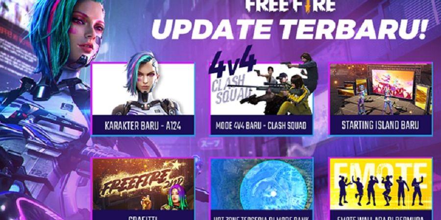 Ada Karakter dan Mode Baru pada Update Patch Garena Free Fire Bulan Agustus