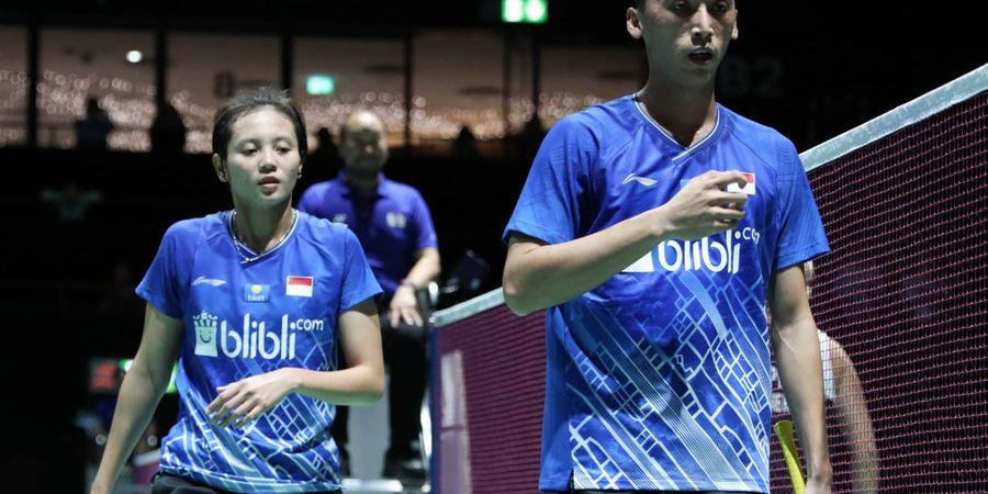 Hasil Chinese Taipei Open 2019 - Menangi Derbi Merah Putih, Ricky/Pia Melaju