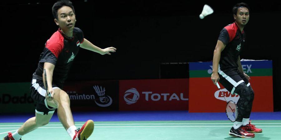 Hasil Kejuaraan Dunia 2019 - Ahsan/Hendra Susul Greysia/Apriyani ke Semifinal