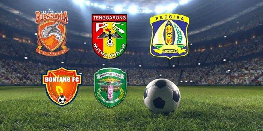5 Tim Sepak Bola yang Berpotensi jadi 'Klub Ibu Kota' Kalimantan Timur
