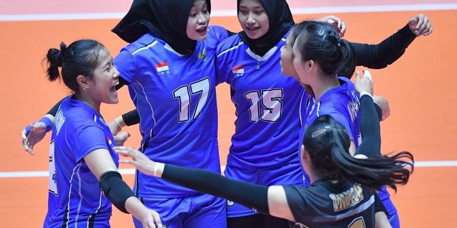 Kejuaraan Asia Senior 2019 - Kalah dari Jepang, Timnas Voli Putri Gagal ke Semifinal