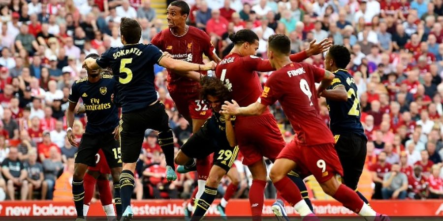 Arsenal vs Liverpool - Peluang Meriam London Hancurkan Rekor The Reds