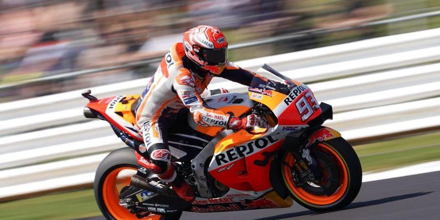 Dikepung Yamaha pada Hari Pertama MotoGP San Marino 2019, Marquez Tetap Kalem
