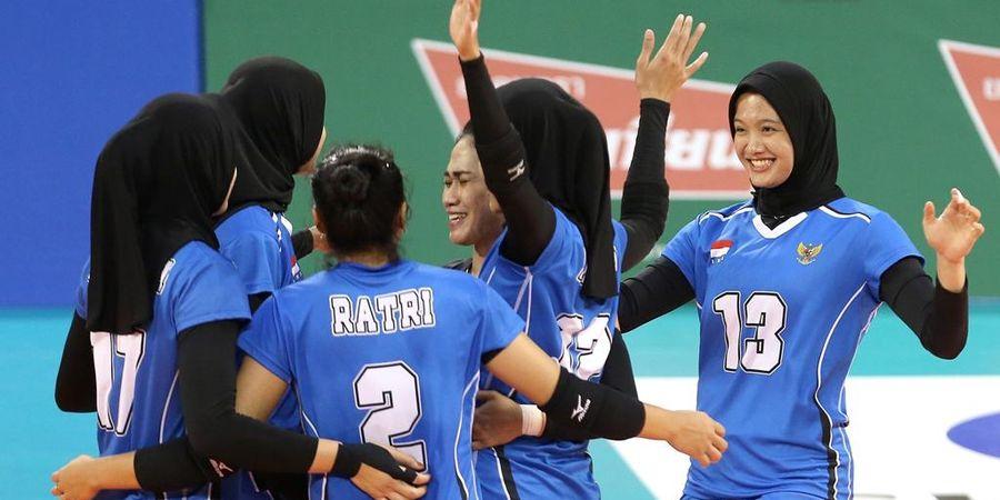 Kalah dari Iran, Timnas Voli Putri Indonesia Tempati Peringkat Ke-8