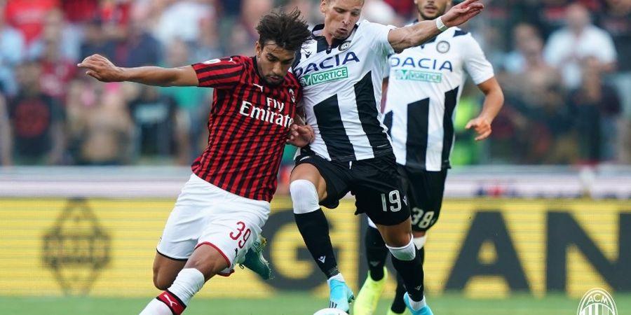 Babak I Liga Italia - Minim Peluang, AC Milan Bermain Imbang Tanpa Gol