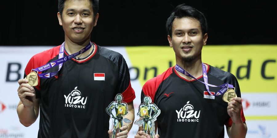 Kejuaraan Dunia BWF 2019 - Ahsan/Hendra Tak Percaya Jadi Juara