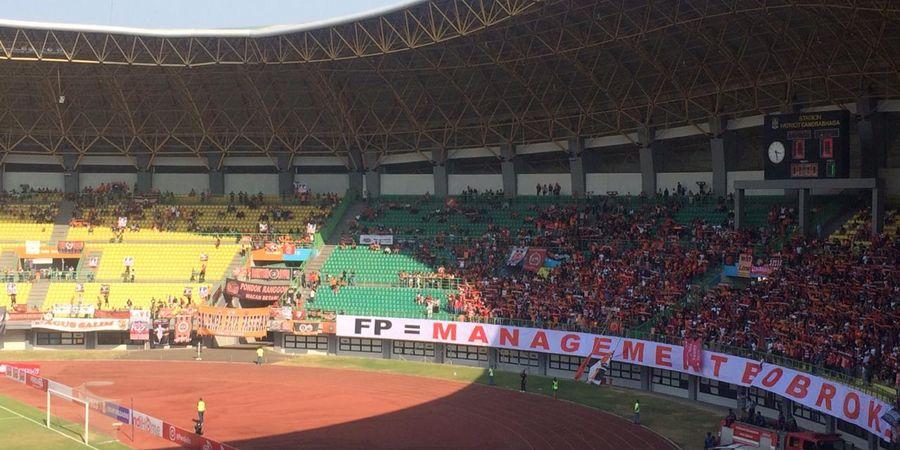 Makna Spanduk Aneh The Jak Mania Saat Persija Hadapi PSIS Semarang