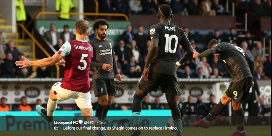Hasil Liga Inggris - Cetak Tiga Gol ke Gawang Burnley, Liverpool Makin Kokoh di Puncak Klasemen