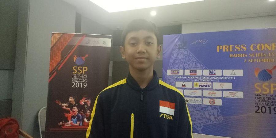 Bocah 13 Tahun Siap Bela Indonesia pada Kejuaraan Tenis Meja Asia 2019