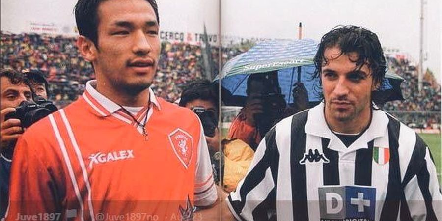 Sejarah Hari Ini - Debut Nakata di Serie A, Cetak Brace ke Juventus