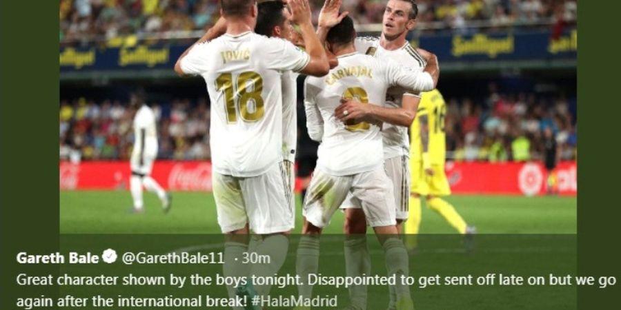 Cetak 2 Gol dan Diusir Wasit, Gareth Bale Jadi Pemain Langka