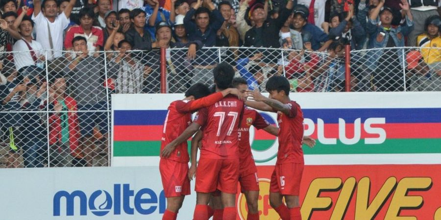 Tim yang Disikat Persija Punya Kans Juarai Liga Myanmar Tanpa Kalah