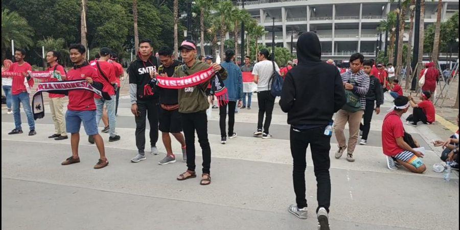 Indonesia Vs Malaysia - Berikut Line Up Timnas Merah Putih