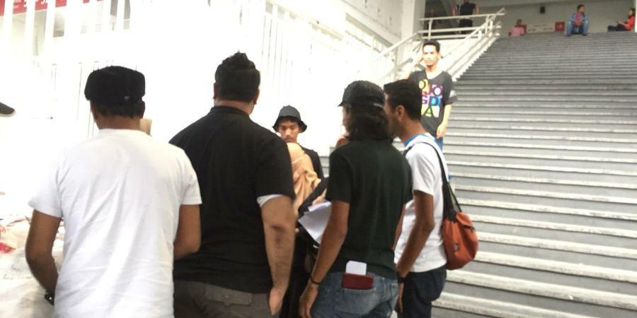 Hindari Bentrok, Suporter Timnas Malaysia Sudah Masuk ke SUGBK Sejak Pukul 15.00