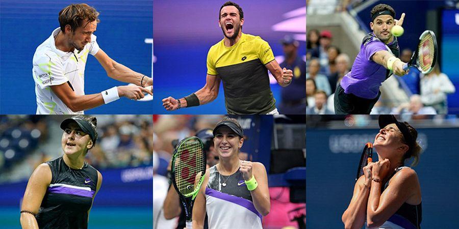 US Open 2019 - Sektor Tunggal Berpeluang 75 Persen Hadirkan Juara Baru