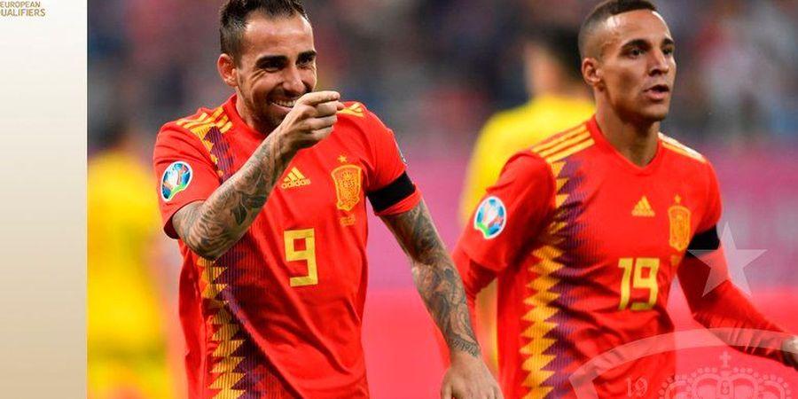 Hasil Kualifikasi Euro 2020 - Kena 1 Kartu Merah, Spanyol Lanjutkan Kesempurnaan