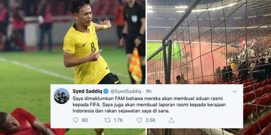 Potensi Sanksi FIFA kepada Indonesia Merujuk Kasus Suporter Timnas Malaysia di Kualifikasi Piala Dunia