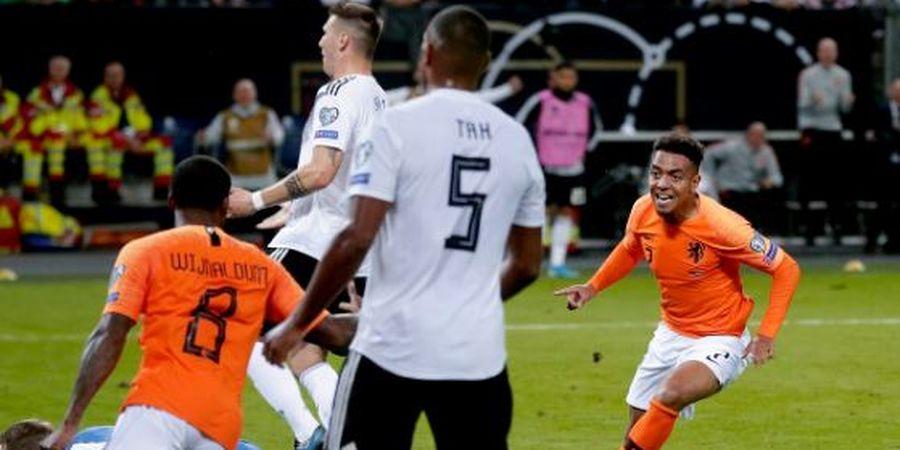 Hasil Kualifikasi Euro 2020 - Debut, Bocah Ajaib Belanda Tenggelamkan Jerman