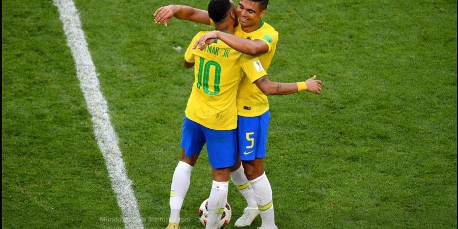 Gagal Mudik ke Barcelona, Neymar Langsung Cetak Assist di Timnas Brasil