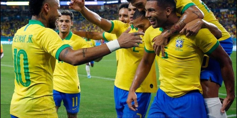 Link Streaming Brasil Vs Senegal - Main di Singapura, Live TV One Hari Ini