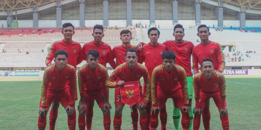 Uji Coba Kedua Timnas U-19 Indonesia Kontra China Berakhir dengan Kekalahan