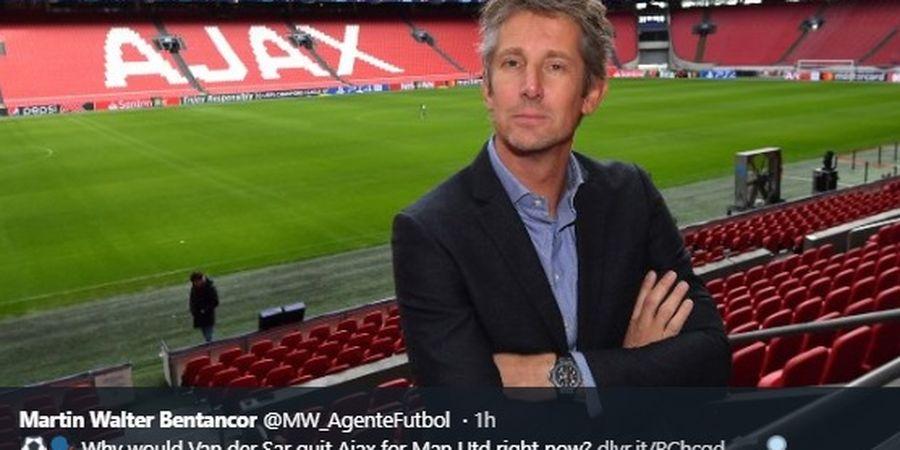 Van der Sar Ingin Ajax Jumpa Manchester United di Kandang Egy Maulana Vikri