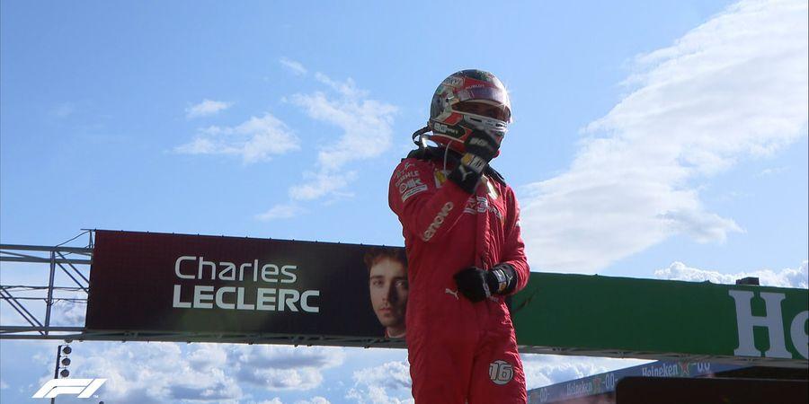 Hasil F1 Italia 2019 - Charles Leclerc Hadirkan Kemenangan Pertama Ferrari di Italia Sejak 2010