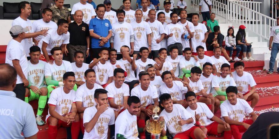Timnas U-23 Indonesia Juara Trofeo Hamengkubowono X Cup 2019