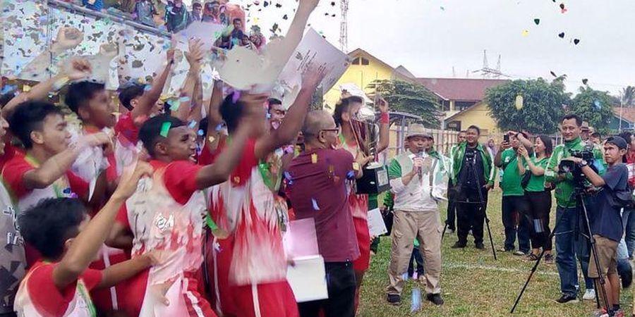 Trofi Juara Piala Menpora U-16 Pindah ke Jawa Tengah