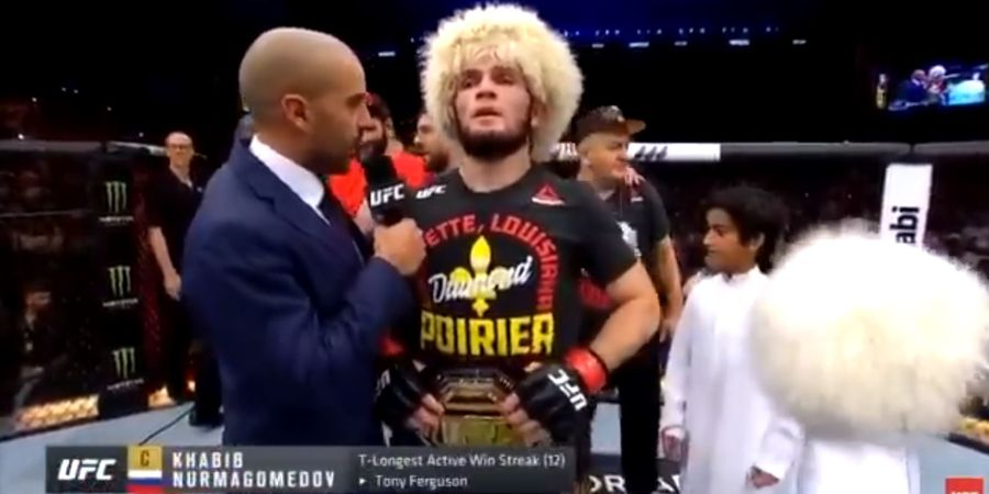 Hasil UFC 242 - Submission Khabib Nurmagomedov dan Deretan Aksi 'Performance of the Night'