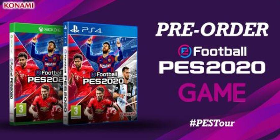 Konami Resmi Merilis eFootball PES 2020