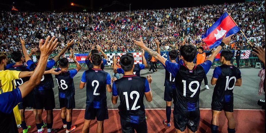 Saat Indonesia Ditekuk Thailand, Kamboja Cuma Kalah Tipis dari Tim yang Gilas Skuad Garuda 10-0