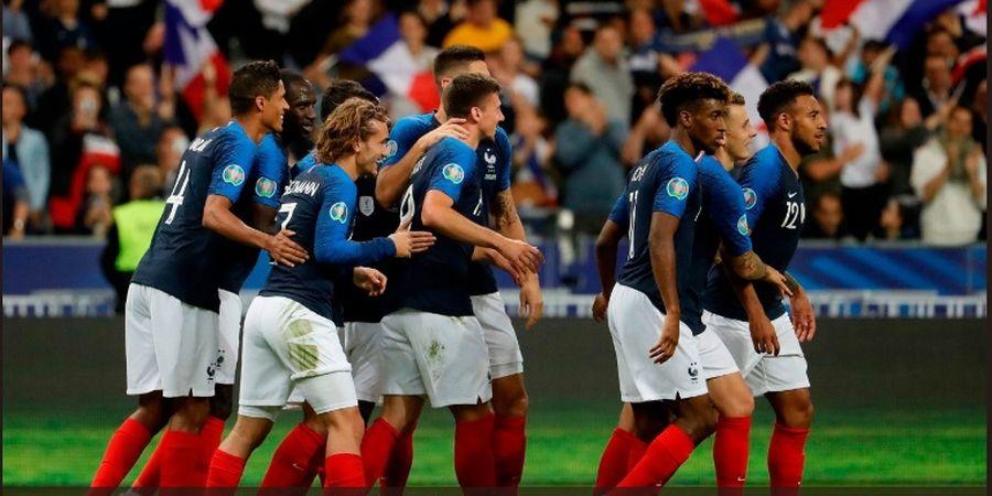 Hasil Kualifikasi Euro 2020 - Griezmann Gagal Penalti, Prancis Menang