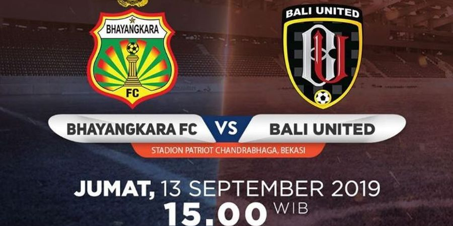 Link Live Streaming Bhayangkara FC Vs Bali United