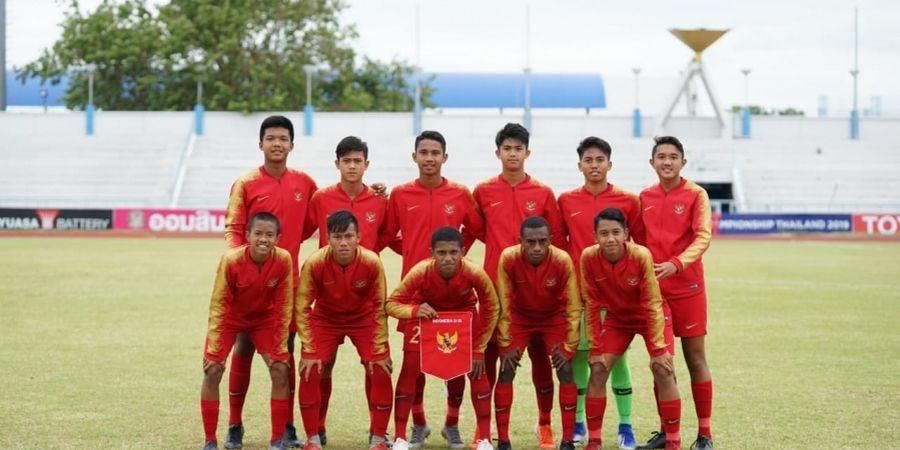 Link Live Streaming Timnas U-16 Indonesia Vs Kepulauan Mariana Utara