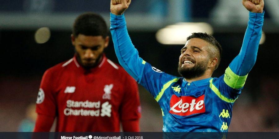 Prediksi Starter Napoli Vs Liverpool - Adu Kuat Pemain dalam Laga Reuni