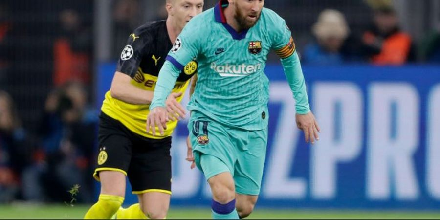 Hasil Liga Champions - Lionel Messi Main 31 Menit, Penalti Gagal, Barcelona Seri