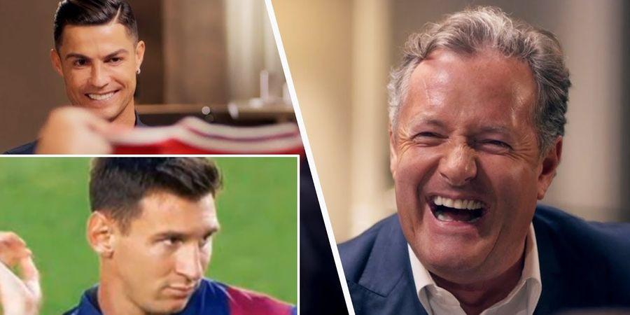 Kocak! Pengamat Sepak Bola Senior ini Berdebat Soal Messi dan Ronaldo