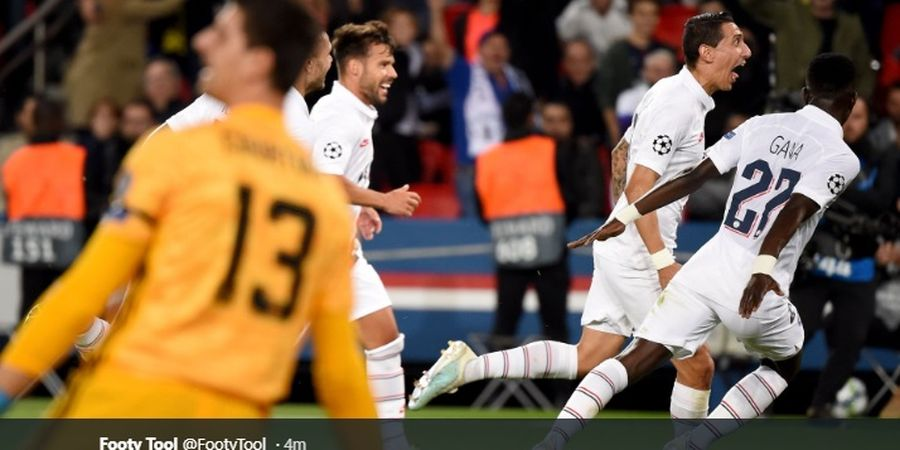 PSG Vs Real Madrid - Brace Mantan Buat Los Blancos Tertinggal di Babak I